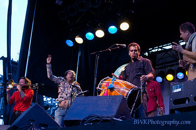 Red Baraat at the Montreal Jazz Festival 4