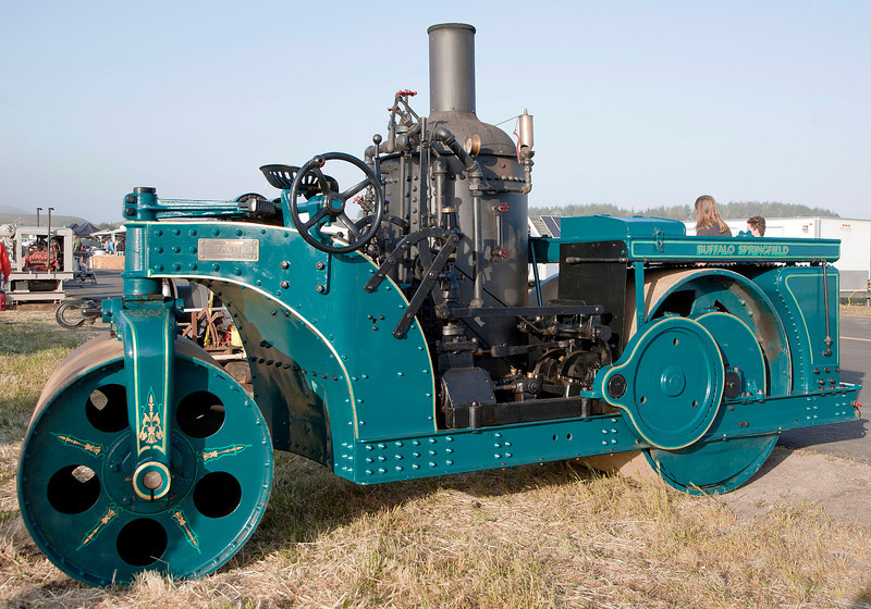 "Steam Roller, ""The Buffalo Springfield Roller Co."""