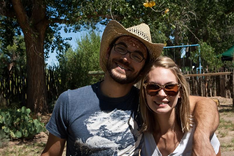 #3 son Casey and sister Julie Olives