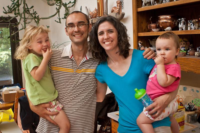 Gabriela (Gaby), Travis, Katie, & Amelia