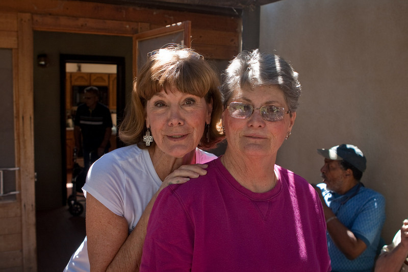 Pat's sisters, Pam & Penny. Hey, what happens at the pig roast, stays at the pig roast.