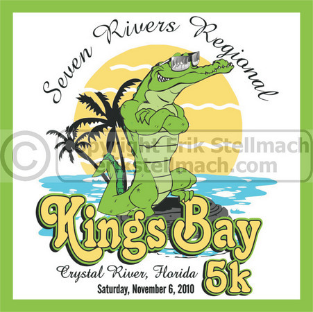 2010.11.06 7 Rivers Kings Bay 5K