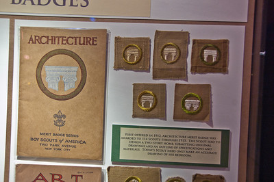 Early Architecture Merit Badge