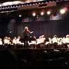 Emma - First band concert. Sandburg auditorium - 2010-01-13
