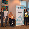 Accessible Parking Awareness Week Media Kick-off 2010. Photographer: Leslie Tanzi. November 22, 2010