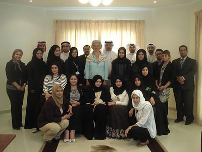 Bahrain MFA Training Programme (October – November 2010)
