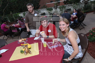 UNCP hosts the Honors College and International Students Cookout at the Chancellor's Residence on October 28th, 2010. honors_IMG_0604.jpg