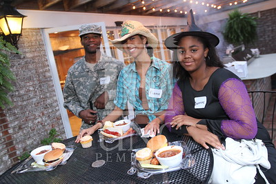 UNCP hosts the Honors College and International Students Cookout at the Chancellor's Residence on October 28th, 2010. honors_IMG_0621.jpg