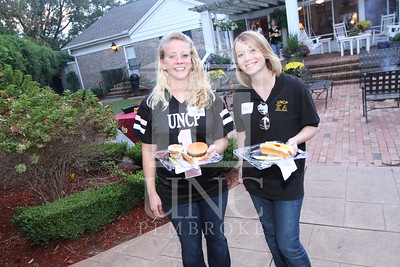 UNCP hosts the Honors College and International Students Cookout at the Chancellor's Residence on October 28th, 2010. honors_IMG_0627.jpg