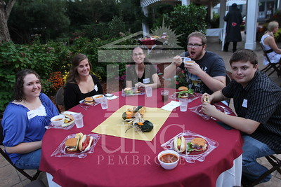 UNCP hosts the Honors College and International Students Cookout at the Chancellor's Residence on October 28th, 2010. honors_IMG_0599.jpg