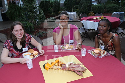 UNCP hosts the Honors College and International Students Cookout at the Chancellor's Residence on October 28th, 2010. honors_IMG_0603.jpg