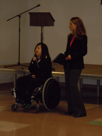 International Day of Persons with Disabilities 2010 Photographer Jasmin Ralstin. December 3, 2010