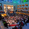 New Years Eve 2010 - City Hall, <br /> Edmonton Photographer: Anthony P. Jones