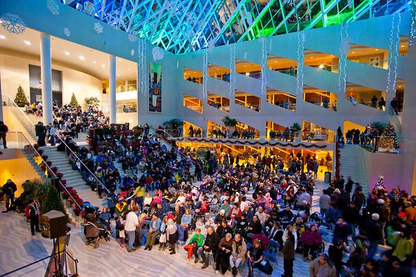 New Years Eve 2010 - City Hall, <br /> Edmonton Photographer: Anthony P. Jones