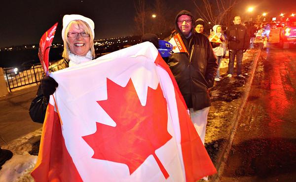 Edmonton Olympic Torch Relay - January 2010