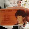 Kazuya Nishimori '85 holding his student ID card at the Osaka, Japan L&C alumni event on Monday, May 31st, 2010.