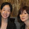 Hwa-ja Shin '89 and Nanami Tomariuchi '89