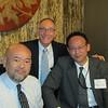 Hirohito Takeshige '80, Greg Caldwell, Fumio Uno ' 80