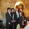 Back: Matsuki Okumoto '89 and Shizuka (Takahashi) Nakajima ' 88, Greg Caldwell, Hwa-ja Shin '89<br /> Front: Nanami Tomariuchi '89