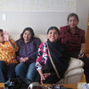 Mohila kul during meeting at Rupak's house