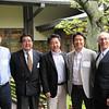 Hiroaki Okamoto '82, Takashi Shoda '87, Toshihiko Denya '88, Michiaki Koike '88, Greg Caldwell