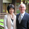 Misa (Yamasaki) Kurihara and Greg Caldwell