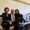 Ms. Kiyoe Kanbayashi '88, Greg Caldwell, Ms. Ritsu Hyakusoku