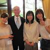 Saika Oshiro '06, Greg Caldwell, (?) Maiko Shimano '05