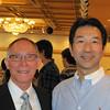 Greg Caldwell and Hiroaki Okamoto '82