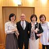 Mayumi Abiko '87, Greg Caldwell, Kaeko Ninomiya '81, Yuka Moon '06