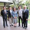 Takashi Shoda '87, Nozomi Kanai '10, Toshihiko Denya '88, Michiaki Koike '88, Greg Caldwell