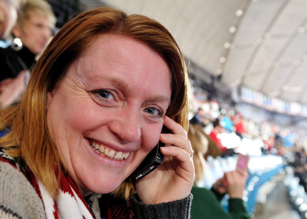 Jen phoning home