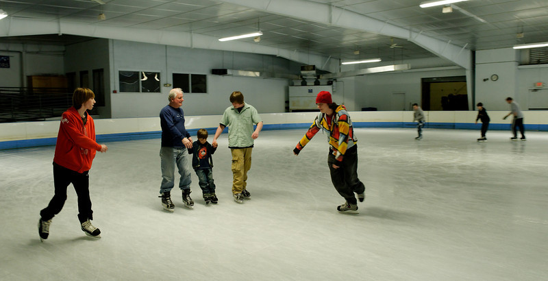 2010 Community Skate FUNdraiser at Nashoba Valley Olympia Rink.