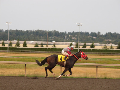 2010.08.01 Horse Races - Emerald Downs