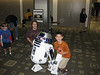 A home-built R2-D2.  No midget required!
