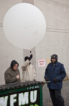 Helium-Men Brave the Cold.