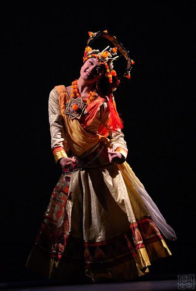 中国武警文工团, 藏族舞蹈《嘎玛堆巴》, 钟媛