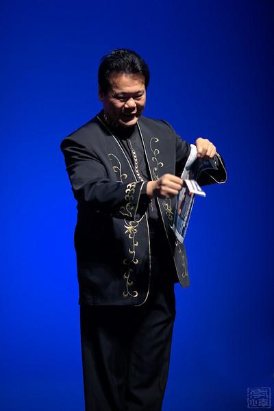 中国煤矿文工团, 范炳强魔术表演