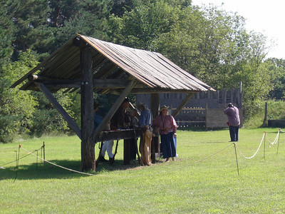 2010 Forest City Rendezvous: Shooting range