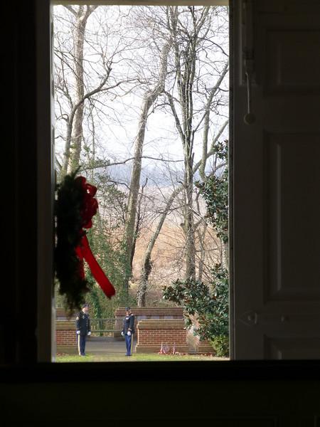 View from Church front door