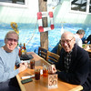 Dad and I at Phil's Fish Market & Eatery, Moss Landing, CA