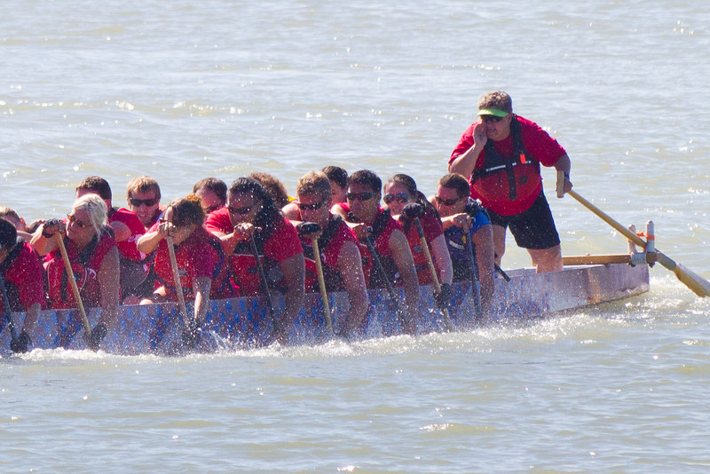 "Race 39 / 500m: Team ""Twisted Hips"" paddles to 3rd place in the Division A Consolation at the 2011 Steveston Dragon Boat Festival."