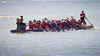 """Race 37 / 500m: Team """"Snap Dragons"""" finishes 3rd in the Division B Consolation race at the 2011 Steveston Dragon Boat Festival."""