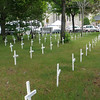 Crosses placed for KIA from MN, IA, ND, SD & WI