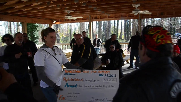 Thanksgiving Ride for Autism Presentation to DSFA