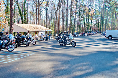 Riders parking at DSFA