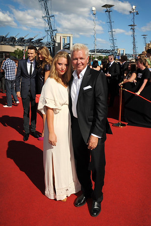 Iva Davies and his daughter Brynne