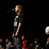 Bri Cole, 11, from Flagstaff Academy competes in the final round of the Camera 2011 Regional Spelling Bee Saturday Feb. 19, 2011 at Monarch High School. Chancey Bush/ The Camera
