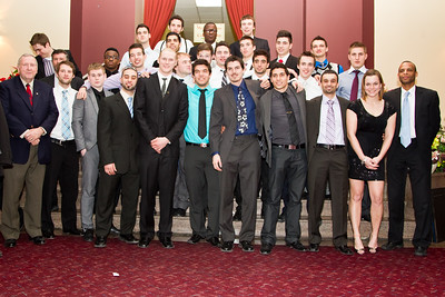 Soccer Team at the Banquet