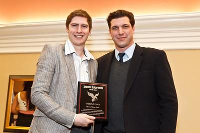 Carlyle Fiset and Coach Csepregi